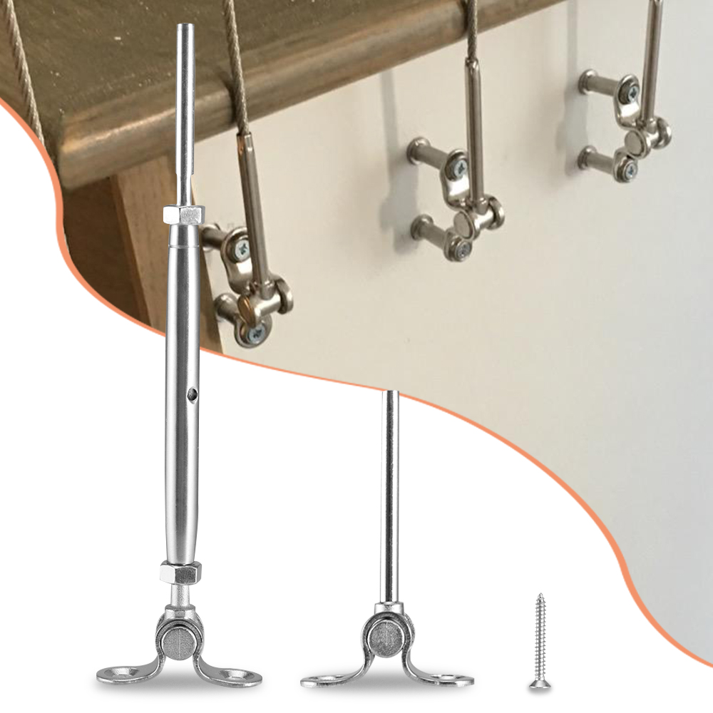 316-Stainless Steel Adjustable Angle Cable Railing ...